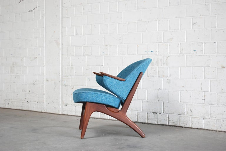 Arne Hovmand Olsen Pair of Easy Lounge Chair, 1960s In Good Condition For Sale In Munich, Bavaria