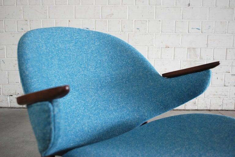 Arne Hovmand Olsen Pair of Easy Lounge Chair, 1960s For Sale 2