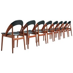 Arne Hovmand-Olsen Rare Set of Dining Chairs