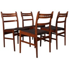 Arne Hovmand Olsen Set Four Dining Chairs