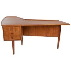 Arne Hovmand-Olsen Teak Boomerang Desk