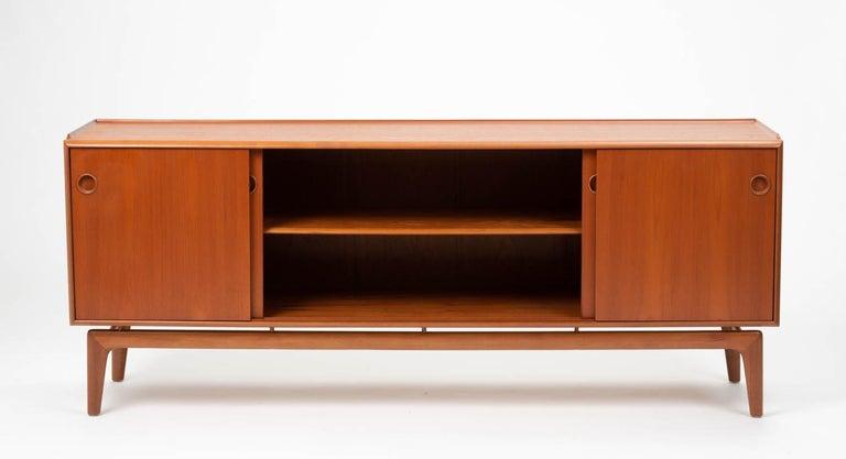 Mid-20th Century Arne Hovmand Olsen Teak Credenza For Sale