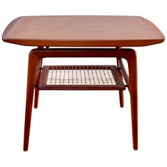 Arne Hovmand-Olsen Teak End Table for Mogens Kold