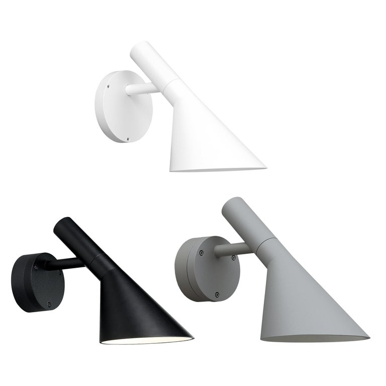 Arne Jacobsen AJ 50 Outdoor Wall Light for Louis Poulsen For Sale