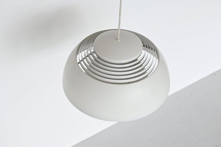 Lacquered Arne Jacobsen AJ Royal pendant lamp Louis Poulsen Denmark 195 For Sale