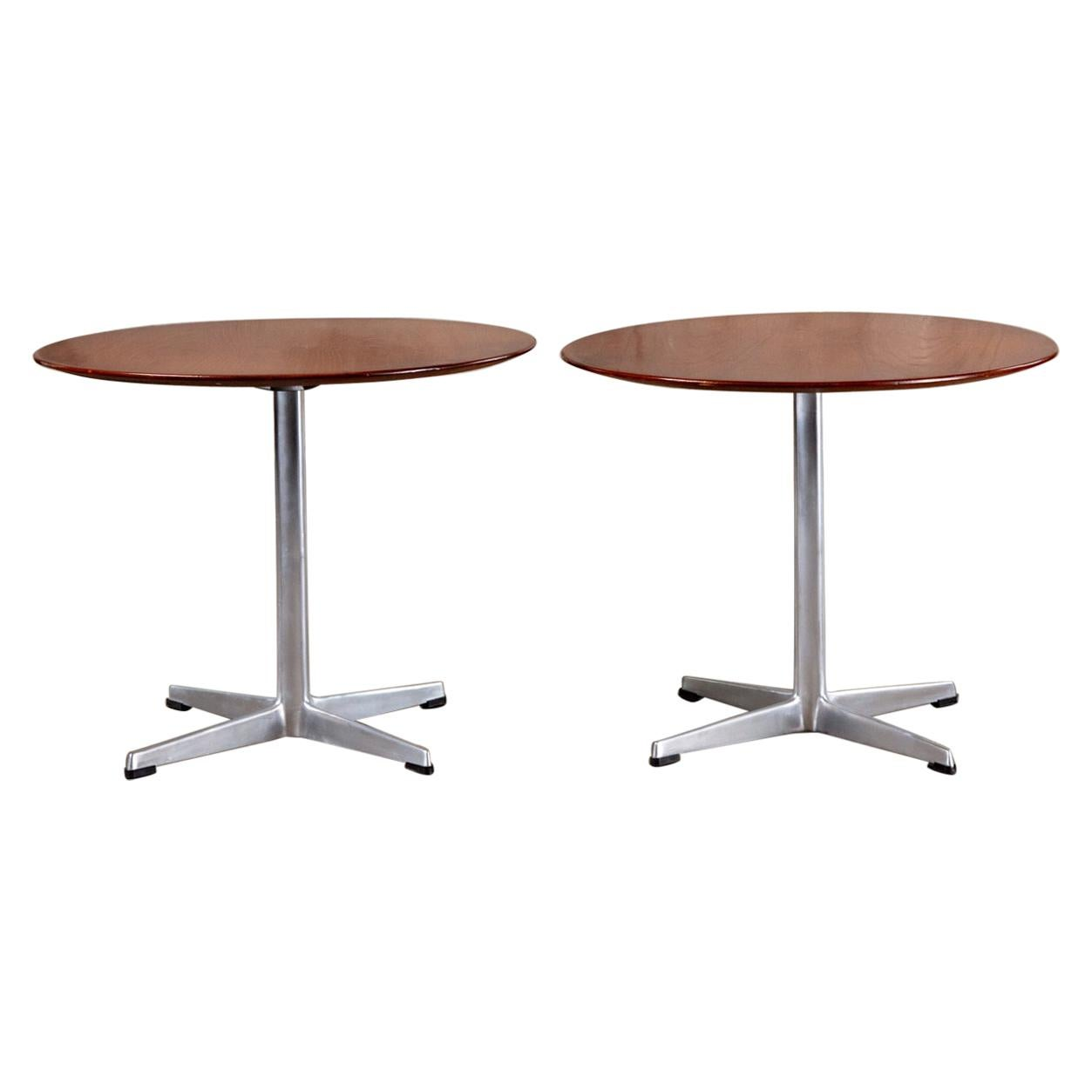 Arne Jacobsen and Fritz Hansen Side Table