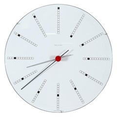 Arne Jacobsen and Georg Christensen Banker's Wall Clock Biggest Edition