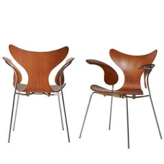 Arne Jacobsen, Armchair, the Lily, Model 3208