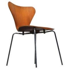 Arne Jacobsen Chairs by Fritz Hansen, Model 3107, circa 1960s