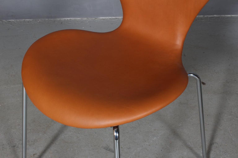 Contemporary Arne Jacobsen Dining Chair For Sale