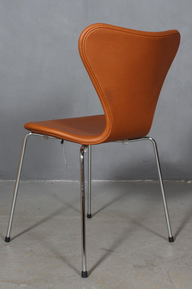 Stainless Steel Arne Jacobsen Dining Chair For Sale