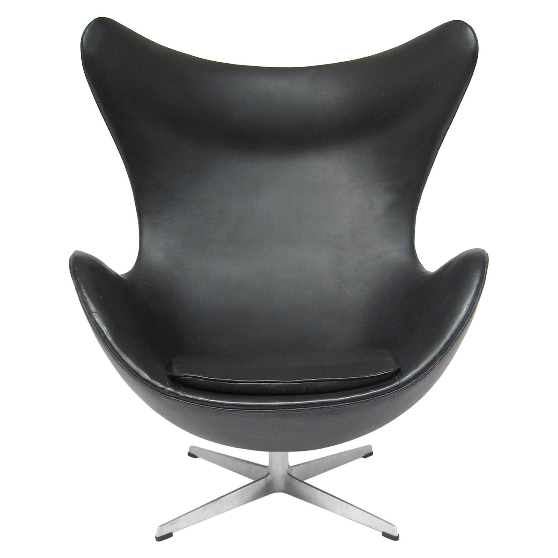 Arne Jacobsen Early Egg Chair by Fritz Hansen