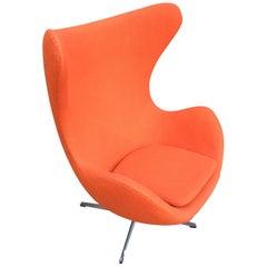 Arne Jacobsen Egg Chair for Fritz Hansen in Any Fabric