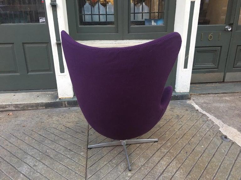 Arne Jacobsen Egg Chair In Good Condition In Philadelphia, PA