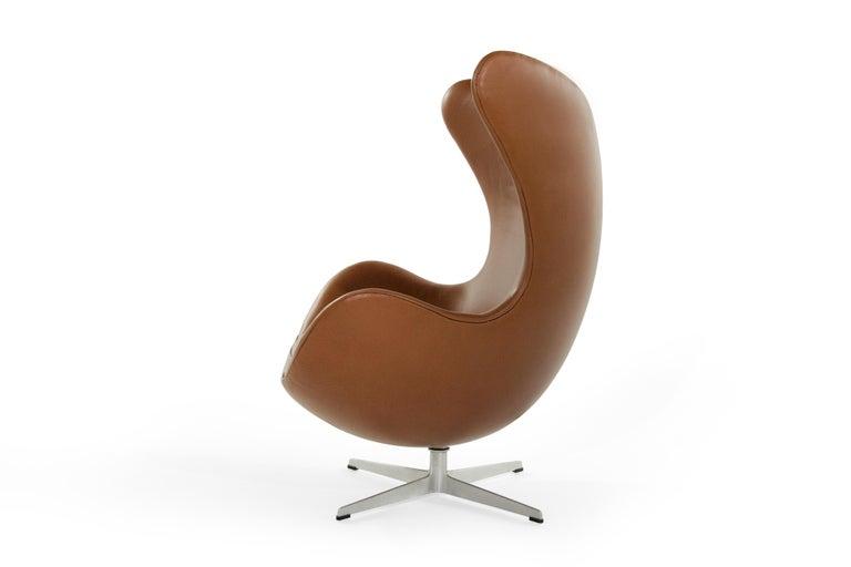 Scandinavian Modern Arne Jacobsen for Fritz Hansen Egg Chair, Denmark, 1966 For Sale