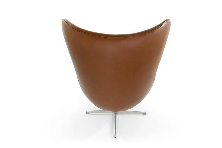 Danish Arne Jacobsen for Fritz Hansen Egg Chair, Denmark, 1966 For Sale