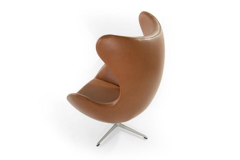 Arne Jacobsen for Fritz Hansen Egg Chair, Denmark, 1966 In Good Condition For Sale In Stamford, CT