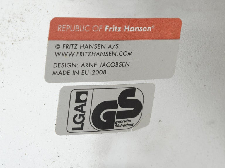 Arne Jacobsen for Fritz Hansen Set of 'Oxford' Chairs For Sale 3