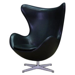 Arne Jacobsen Leather Armchair