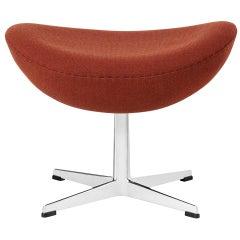 Arne Jacobsen Model 3127 Egg Footstool Fabric