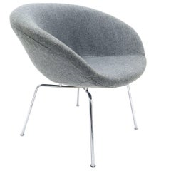 Arne Jacobsen Pot Chair for Fritz Hansen, Danish, 1950s