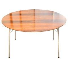 Arne Jacobsen Rosewood Dining Table for Fritz Hansen, Model 3600