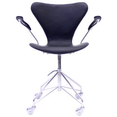Arne Jacobsen, Series 7 Office Chair for Fritz Hansen, 1960s
