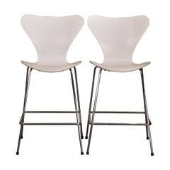 Arne Jacobsen Series 7 Stools by Fritz Hansen
