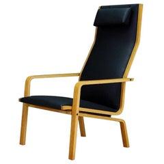 Arne Jacobsen Sessel Danish Design Fritz Hansen Ash Brown, 1970s