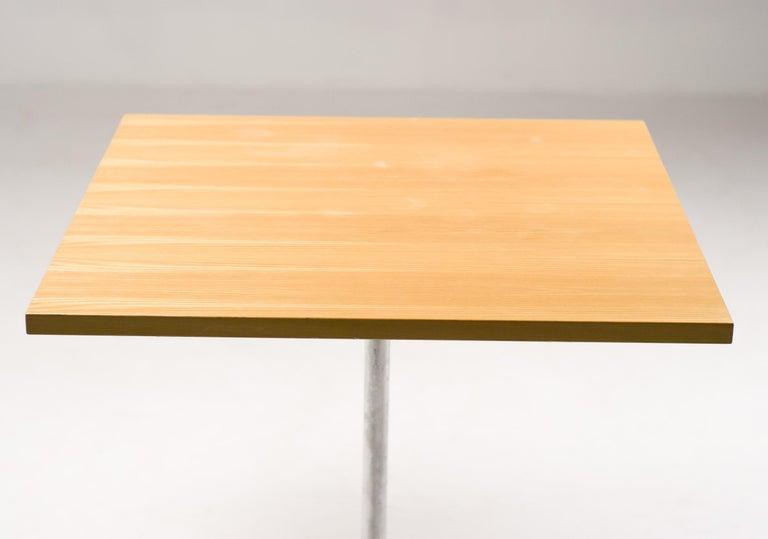 Scandinavian Modern Arne Jacobsen Shaker Cafe Table For Sale