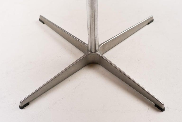 Plated Arne Jacobsen Shaker Table For Sale