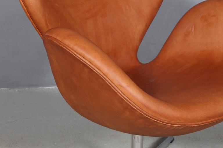 Scandinavian Modern Arne Jacobsen Swan For Sale