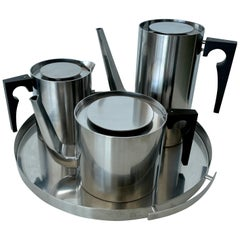 Arne Jacobsen Tea / Coffee Service for Stelton