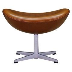 Arne Jacobsen The Egg Chair Footrest Danish Design