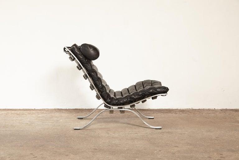 Mid-Century Modern Arne Norell Ari Lounge Chair, 1970s, Sweden