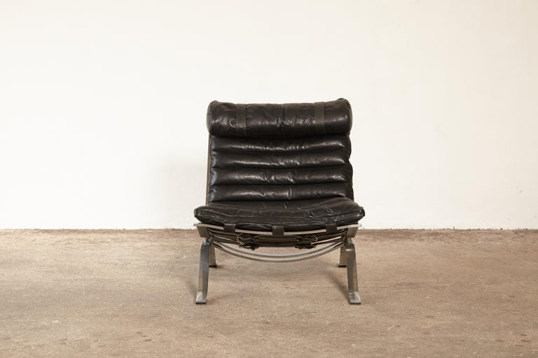 Swedish Arne Norell Ari Lounge Chair, 1970s, Sweden