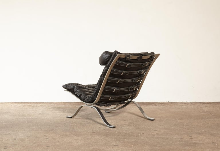 Arne Norell Ari Lounge Chair, 1970s, Sweden In Good Condition In London, GB