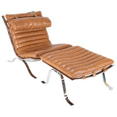 "Arne Norell ""Ari"" Lounge Chair with Ottoman"