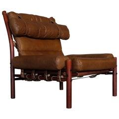 Arne Norell Easy Chair Model Inca, 1970s