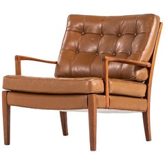 Arne Norell Easy Chair Model Löven by Arne Norell Ab in Sweden