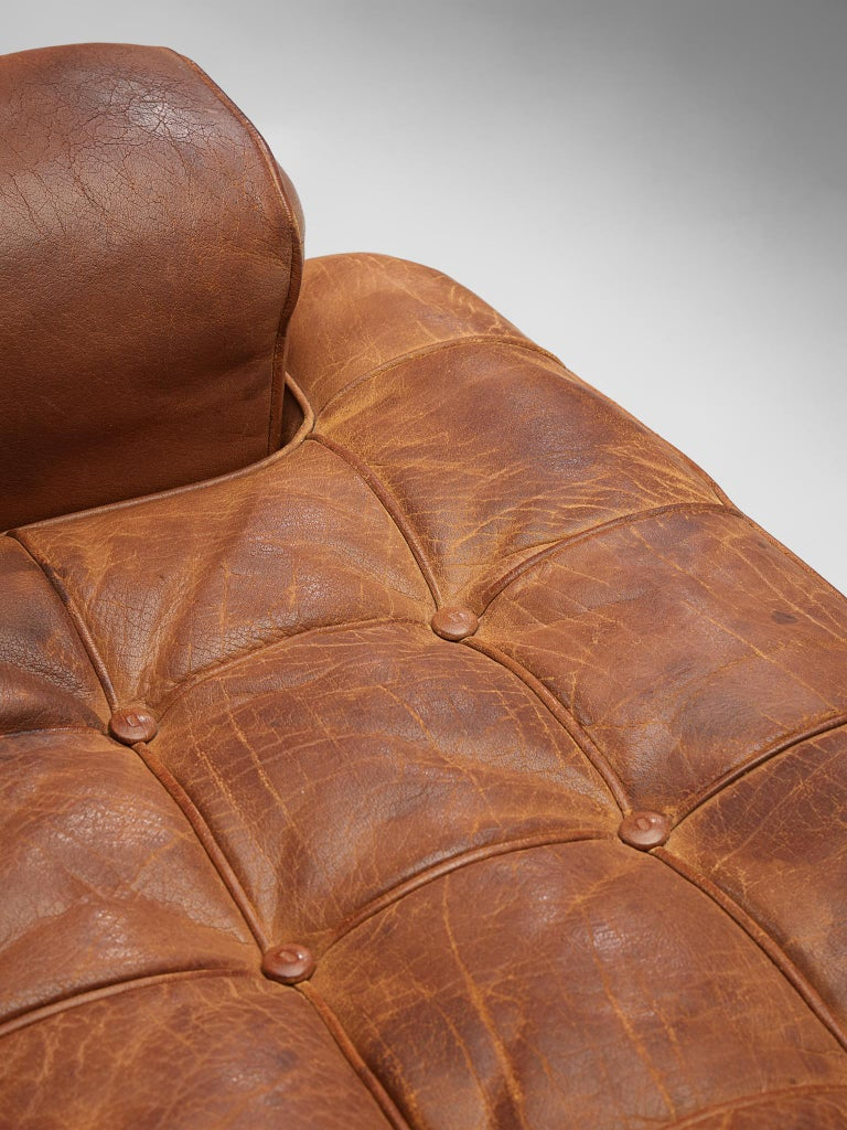 Special listing for M: Arne Norell Lounge Chairs in Cognac Leather 2