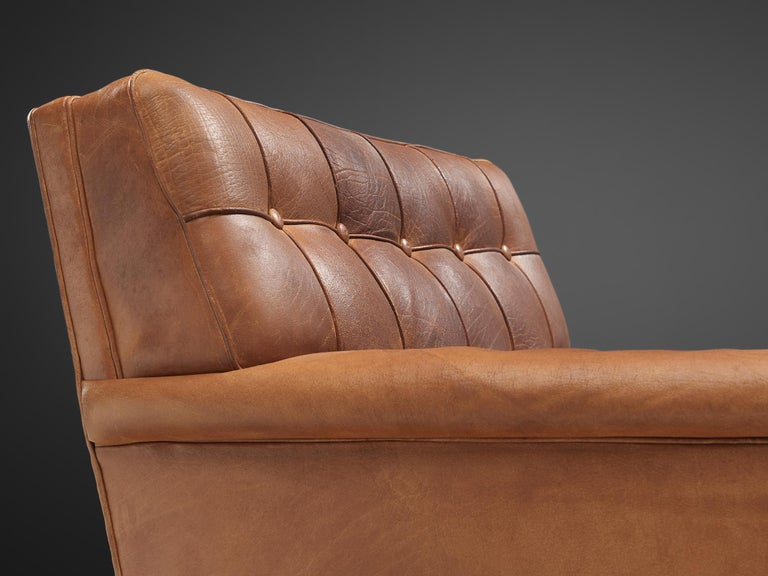 Special listing for M: Arne Norell Lounge Chairs in Cognac Leather 3