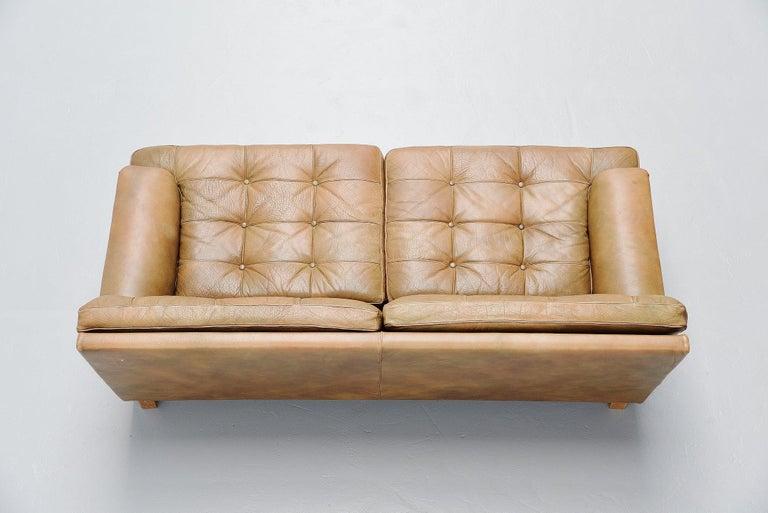 Scandinavian Modern Arne Norell Merkur Two-Seat Sofa AB, Sweden, 1960 For Sale