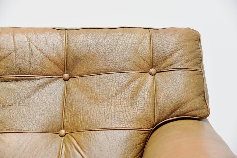 Arne Norell Merkur Two-Seat Sofa AB, Sweden, 1960 In Good Condition For Sale In Roosendaal, Noord Brabant