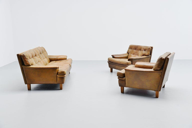 Arne Norell Merkur Two-Seat Sofa AB, Sweden, 1960 For Sale 1