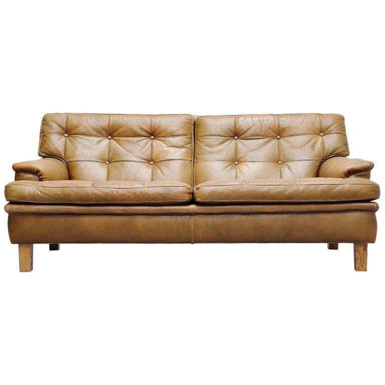 Arne Norell Merkur Two-Seat Sofa AB, Sweden, 1960 For Sale