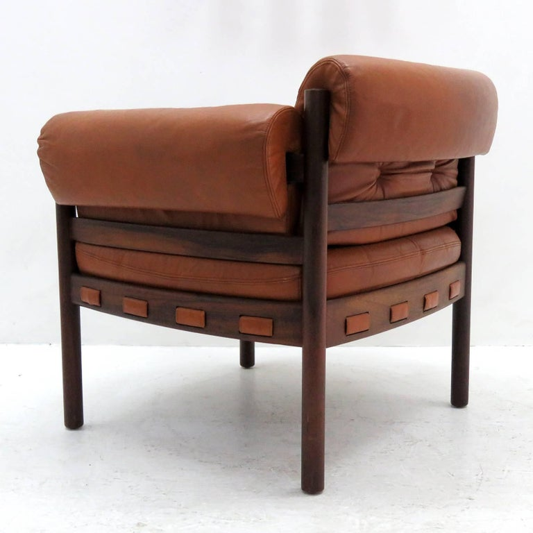 Mid-20th Century Arne Norell Rosewood Lounge Chairs for Coja Culemborg For Sale