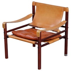 Arne Norell Safari Chair Model Sirocco, 1960s
