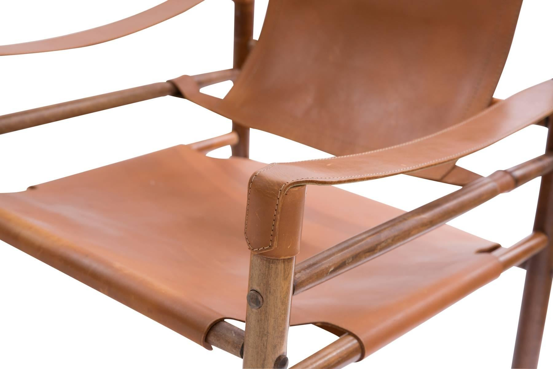 Charmant Mid Century Modern Arne Norell Safari Chairs For Sale