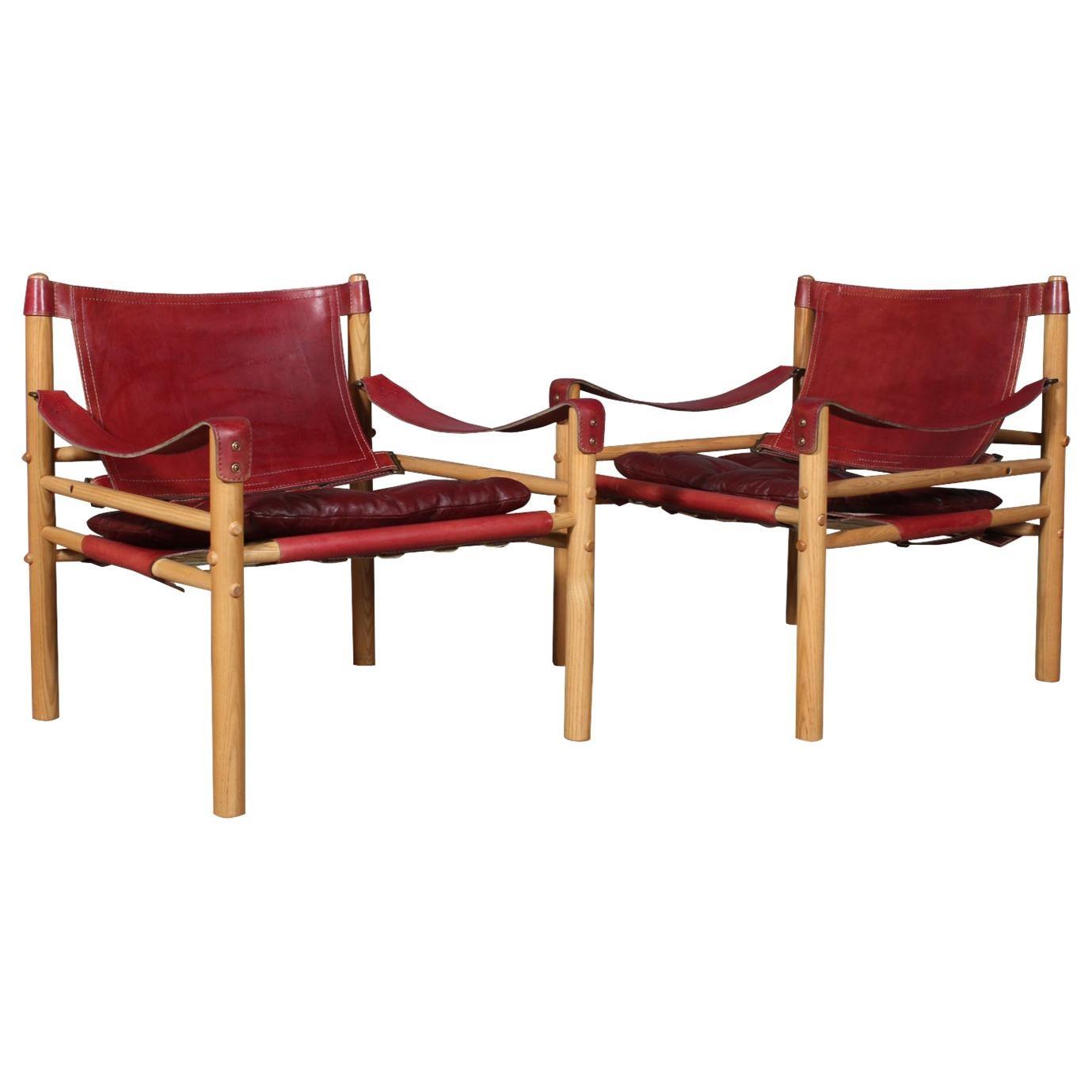 Arne Norell Safari Chairs, Model Scirocco